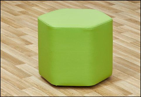 Mini Hexagon Foam Seats - Set of Four