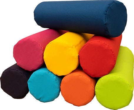 Jolly Back Portable Posture Roll - Set of 4 Single Colour