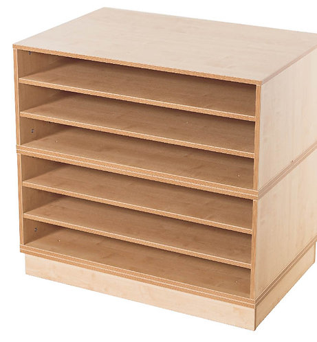 KubbyClass A1 6x Fixed Shelf Unit