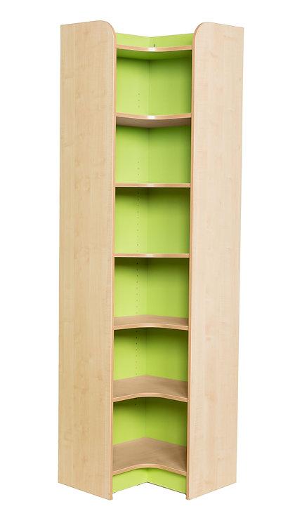 KubbyClass Internal Corner Library Bookcase