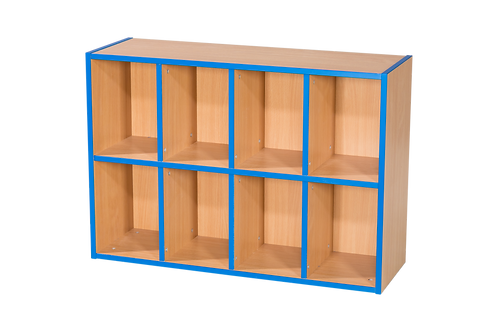 2 Tier 4+4 Shelf Unit