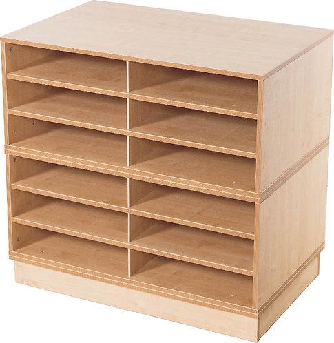 KubbyClass 12 Space A2 Fixed Shelf