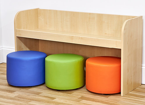 Wide Activity Bench with Three Dot Seats