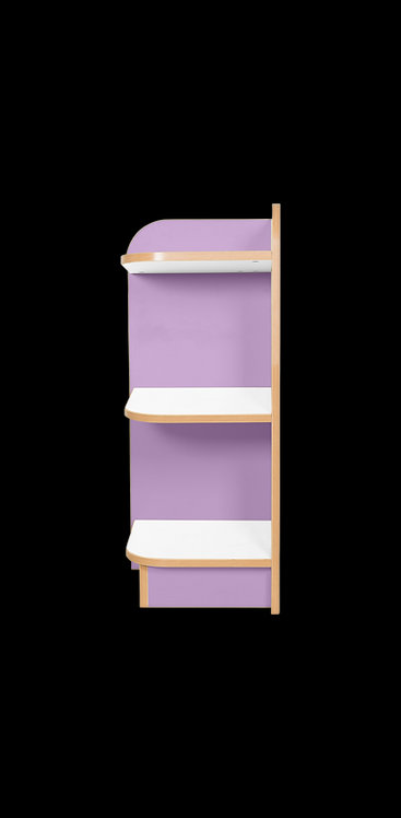 KubbyClass Polar Library End Bookcase
