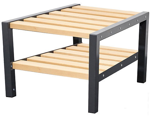 600mm Double Bench with Shoerack