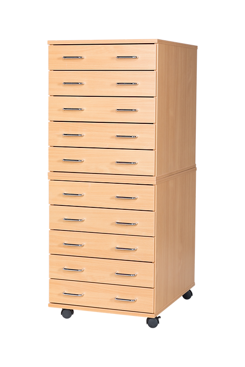 10 Drawer A2 Planchest - Mobile