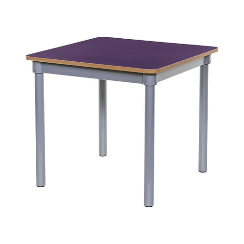 KubbyClass 750mm Square Table