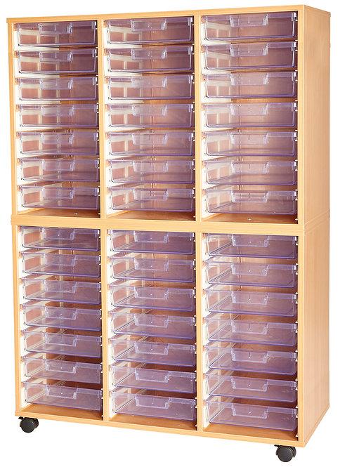 Crystal Clear 42 Tray Triple