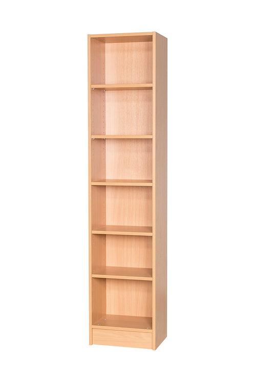 1800mm High Narrow Bookcase