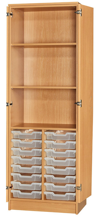 16 Tray Cupboard Full Doors