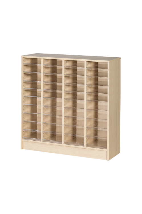 40 Space Quad Column Pigeonhole