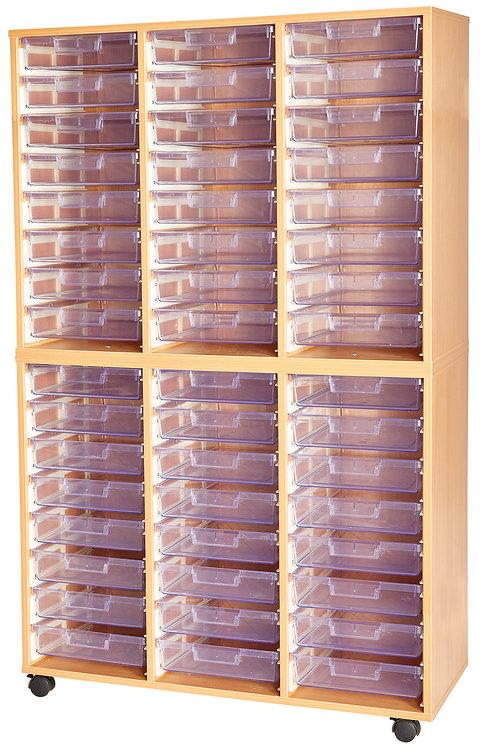 Crystal Clear 48 Tray Triple