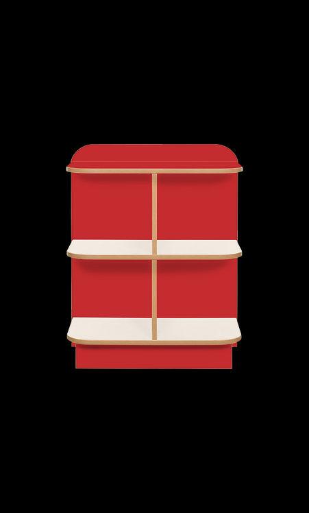 KubbyClass Polar Library D-Cap Bookcase