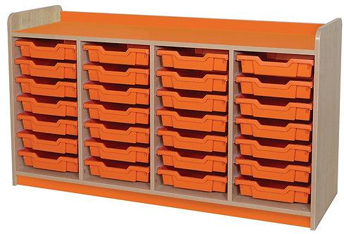 KubbyClass Triple Column 28 Tray Unit