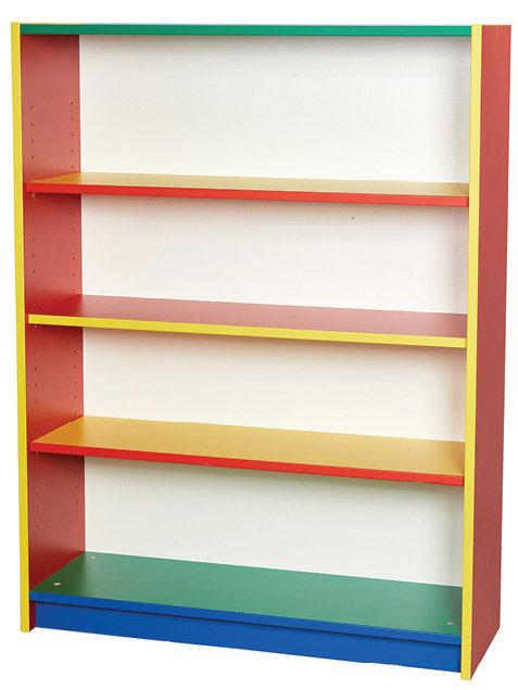 Colore Bookcase - three adjustable shelfs.