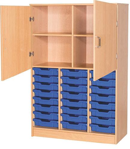 24 Tray Triple Half Cupboard