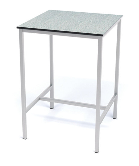 600mm x 600mm H-Frame Lab Table