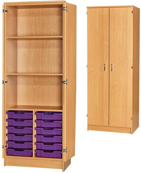 12 Tray Cupboard - Full Doors