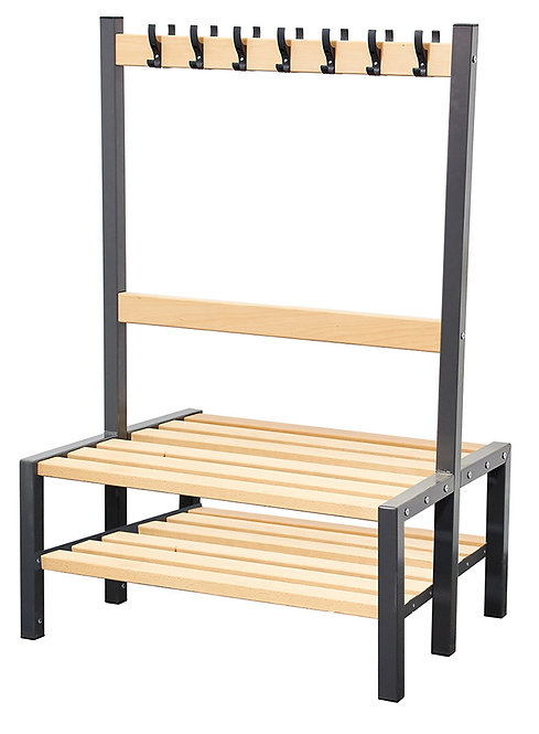 900mm Seat with Shoe Rack