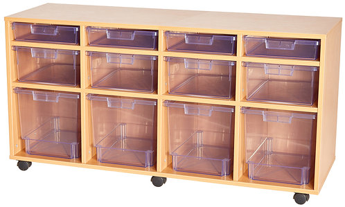 Crystal Clear 12 Tray - Variety