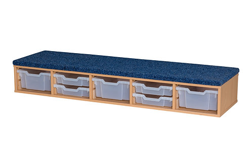 Classroom Step - includes  3 x Deep & 4 x Shallow Trays