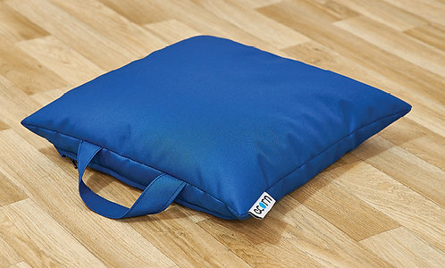 Square Floor Cushions - Mixed Set of 16