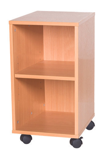 5 High Single Open Shelf