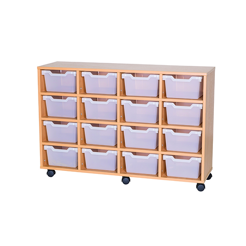 16 Deep Cubby Tray Quad