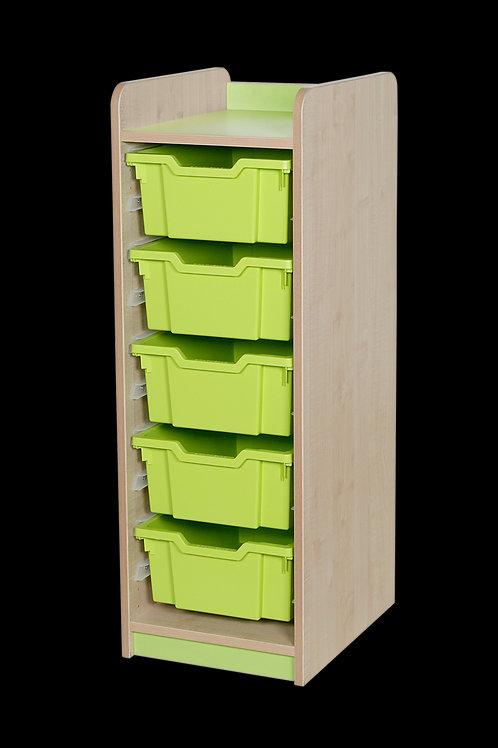 KubbyClass Single Column Combination Tray Unit (5 x X2 Trays)