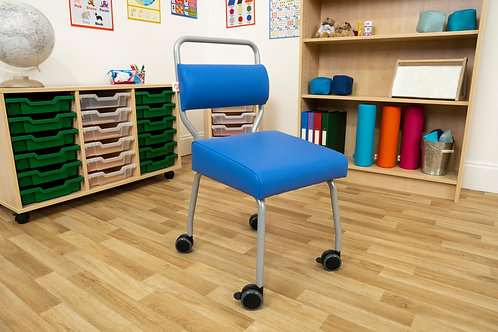 Jolly Back Chair with Castors Large