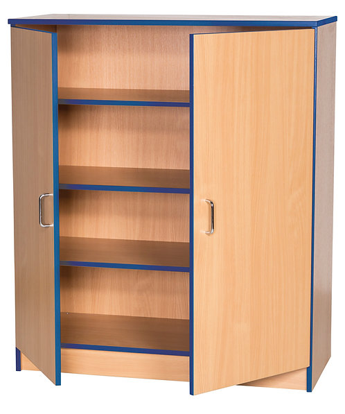 1250mm High Lockable Cupboard