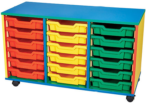 18 Tray Mobile Double Unit
