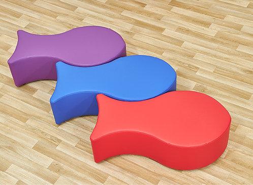 Fish Foam Seats - Set of Three