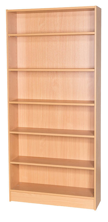 1800mm High Double Sided Bookcase