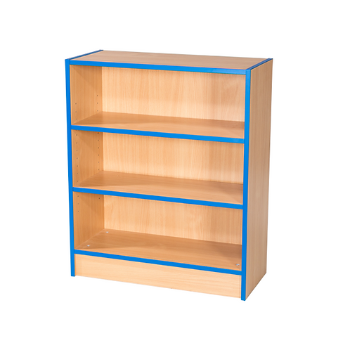 750mm Wide Flat Top Bookcase with Adjustable Shelves