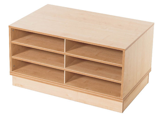 KubbyClass A1 3x Fixed Shelf Unit