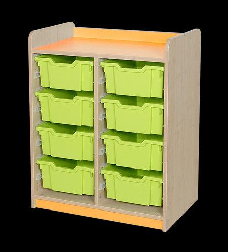 KubbyClass Double Column Combination Tray Unit (8 x X2 Trays)