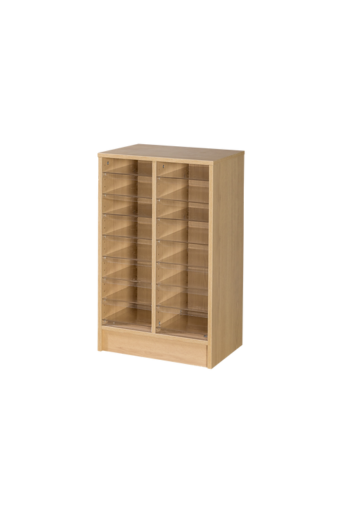 18 Space Double Column Pigeonhole