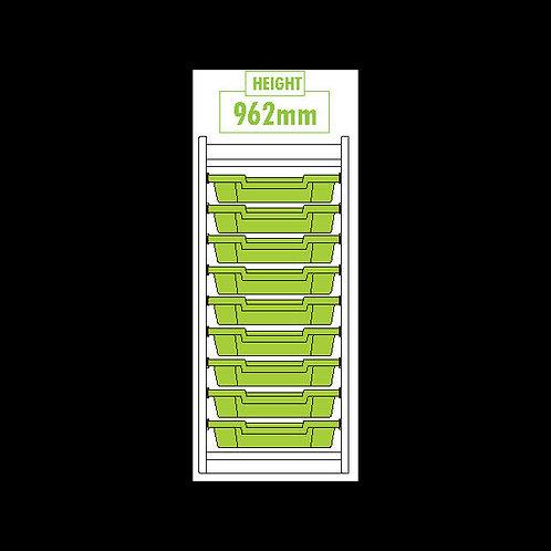 KubbyClass Single Column Tray Unit