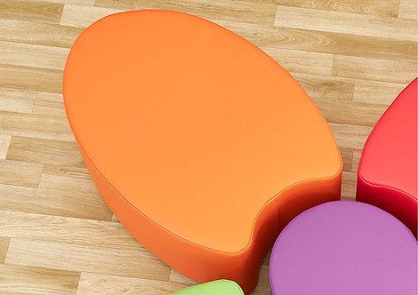 Single Petal Foam Seat