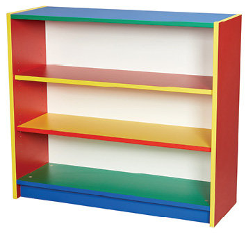 Colore Bookcase - two adjustable shelves