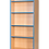Thumbnail: 750mm Wide Double Sided Bookcase with Adjustable Shelves