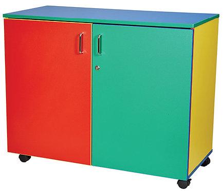 Mobile Storage Cupboard Locking