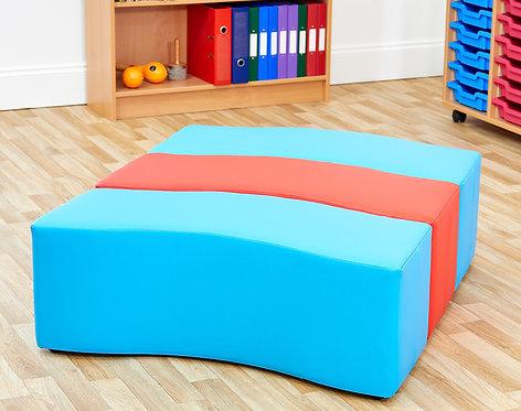 Wave Foam Seats - Set of Three