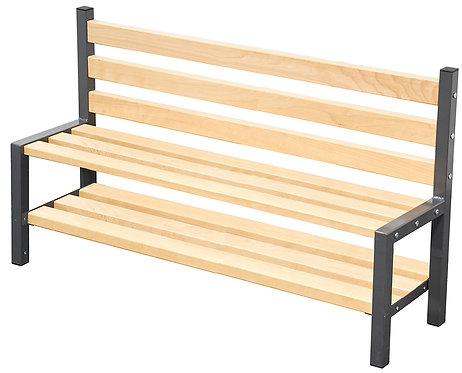 1500mm Single Seat with Shoe Rack