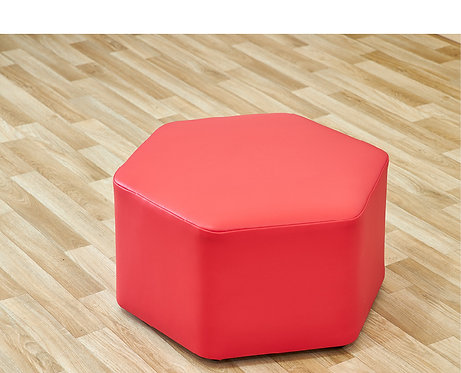 Large Hexagon Foam Seat