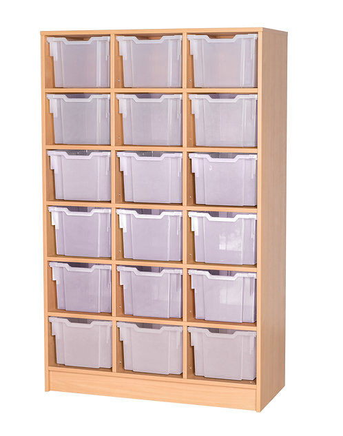 18 Tray Uniform Storage