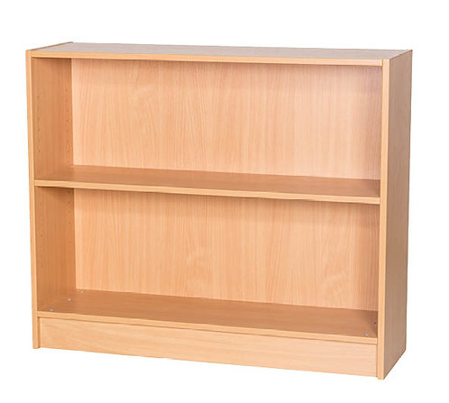 900mm High Double Sided Bookcase