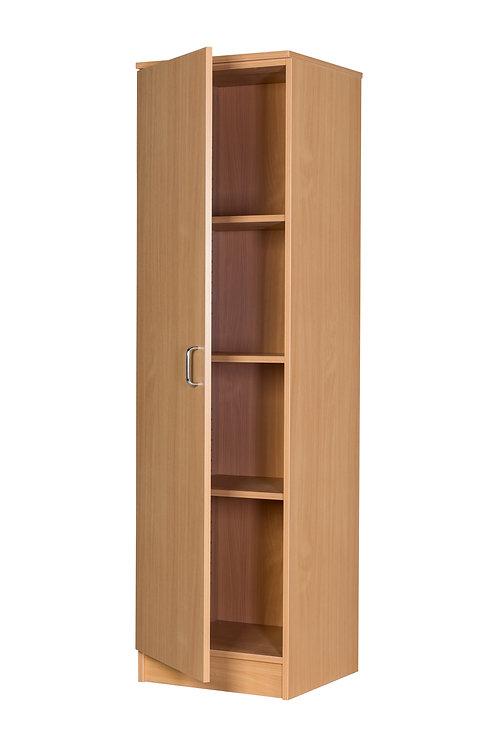 Single Cupboard Beech - 943 x 355 x 480 - Static - Beech