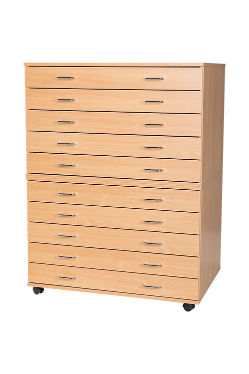 10 Drawer A1 Planchest - Mobile